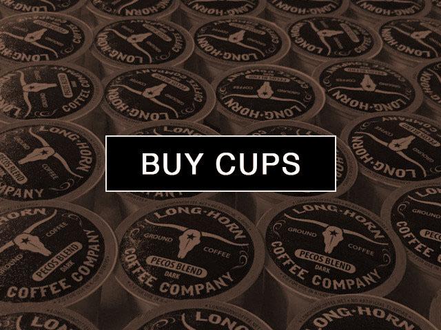 High Caffeine Coffee Longhorn Coffee Co San Angelo TX cups
